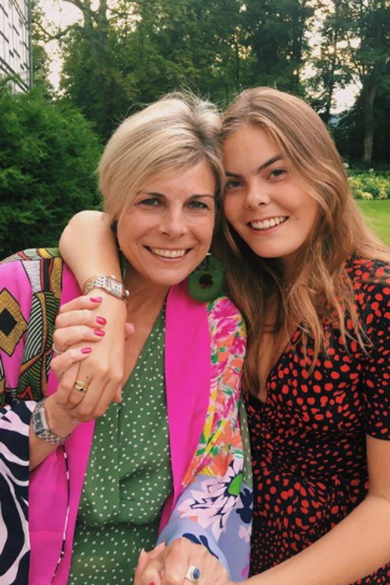 La princesa Laurentien junto a su hija, la condesa Eloise, influencer en Instagram