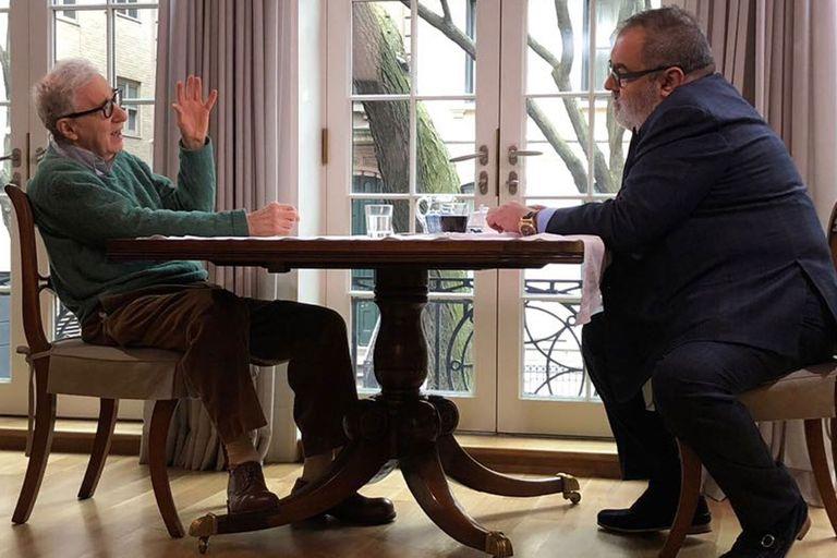 Jorge Lanata entrevistó al cineasta en Nueva York y tuvo la oportunidad de ver con él la película favorita de Allen, El ladrón de bicicletas