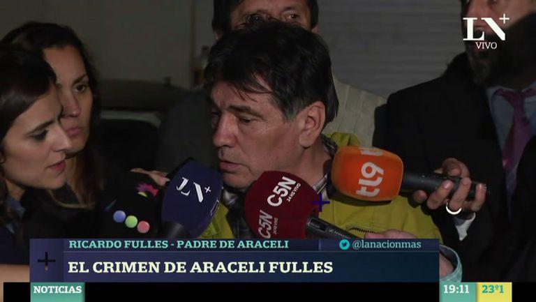 GF Default - Habla el padre de Araceli Fulles tras el hallazgo del cuerpo de su hija