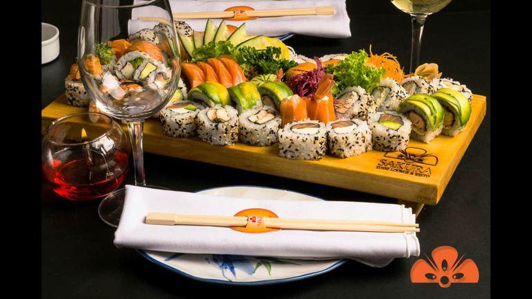 Sakura tiene 10 años de experiencia en el rubro sushi, que también se reflejan en su creatividad para las piezas veggie