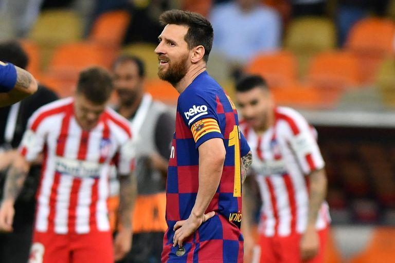 La decepción de Messi es la de Barcelona