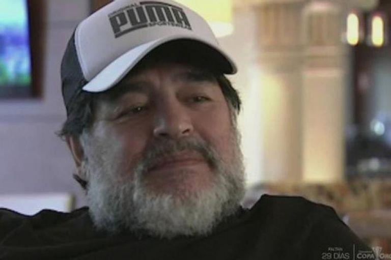 """""""No vayan a verla"""": Maradona criticó su película y dio los motivos del disgusto"""