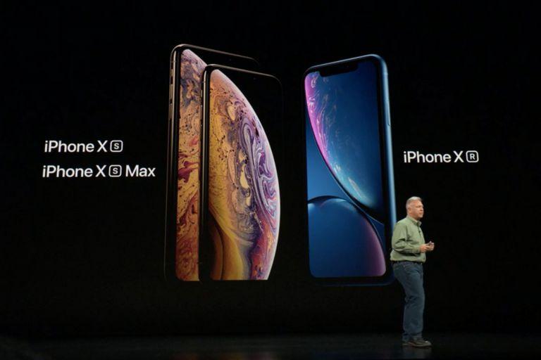 La compañía anunció tres modelos de iPhone X, denominados S, S Max y R