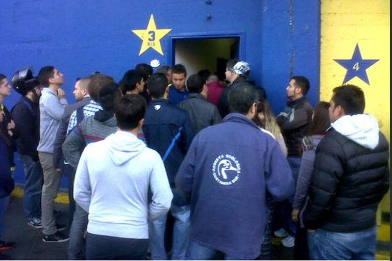 Los socios de Boca se quejaron en la Bombonera