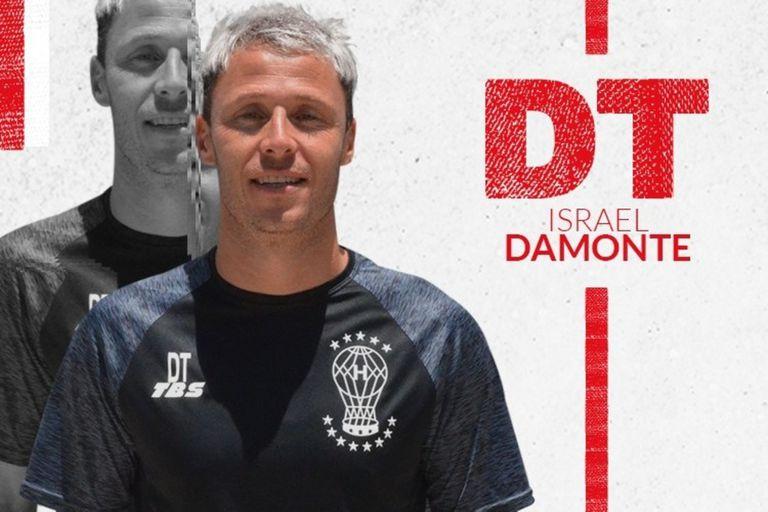 Israel Damonte: los miedos, desafíos y presiones de pasar de ser jugador a DT