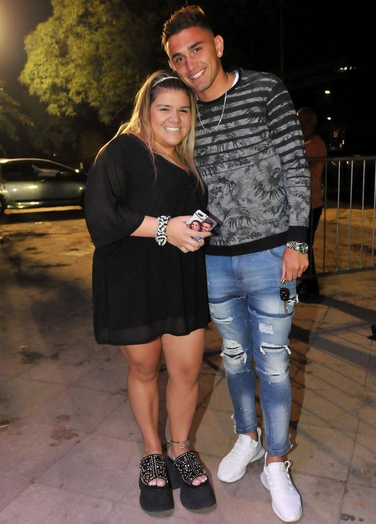 Morena Rial y su novio, feliz de estar por entrar al show