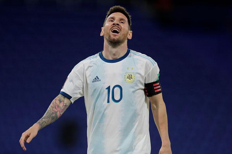Lionel Messi, figura y capitán del seleccionado argentino, que debería jugar contra Uruguay dentro de tres semanas