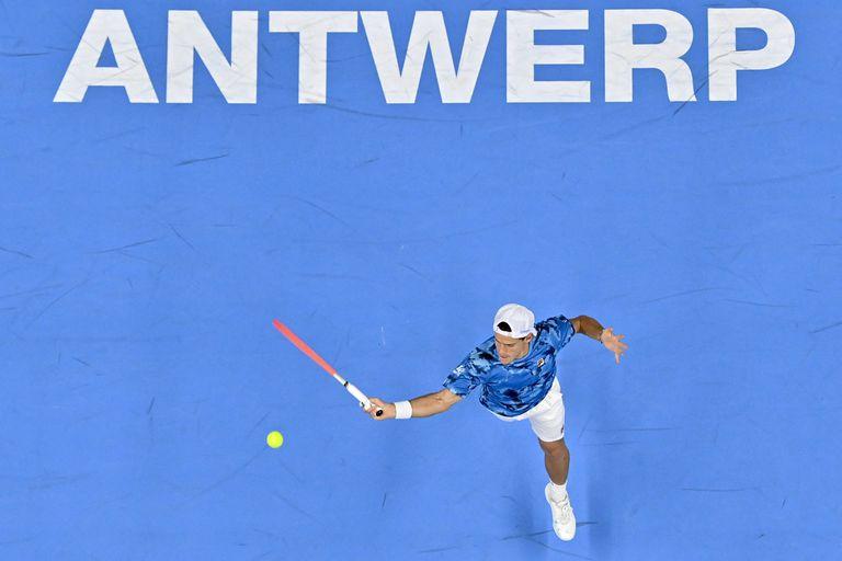 Diego Schwartzman - Brandon Nakashima, en el ATP 250 de Amberes: horario y TV