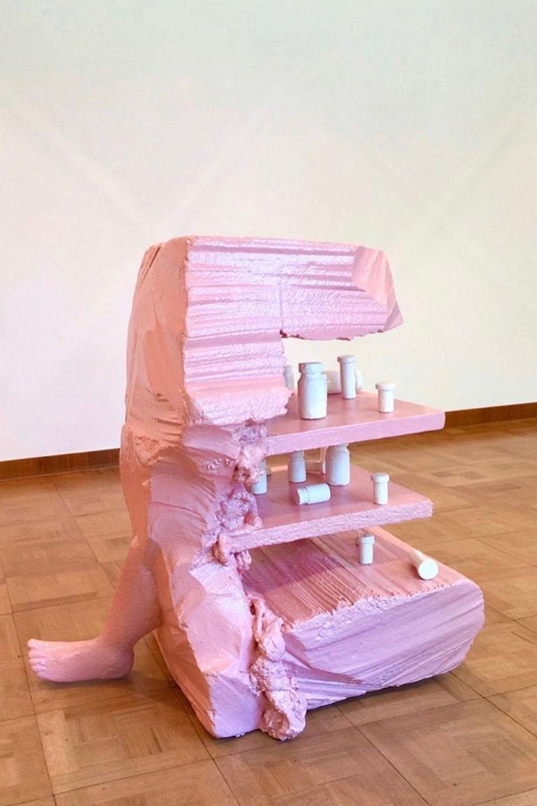 Obra de Naufus Ramírez-Figueroa exhibida por la galería guatemalteca Proyectos Ultravioleta, ganadora del premio Iberia Diálogos