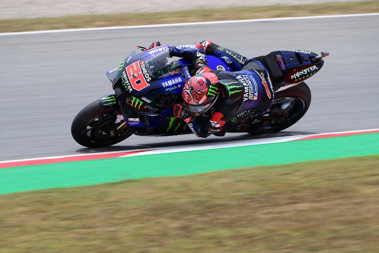 El francés Fabio Quartararo, con Yamaha, obtuvo la pole position en Montmeló; el líder del certamen de MotoGP es el favorito en el Gran Premio de Cataluña.