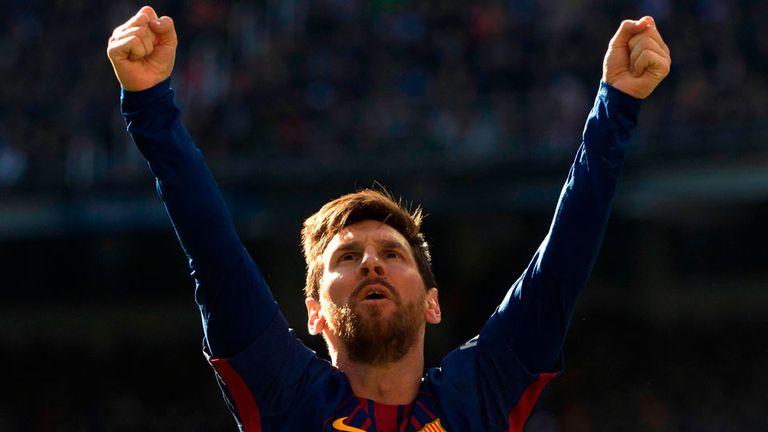 Messi volvió a ser la estrella del clásico español