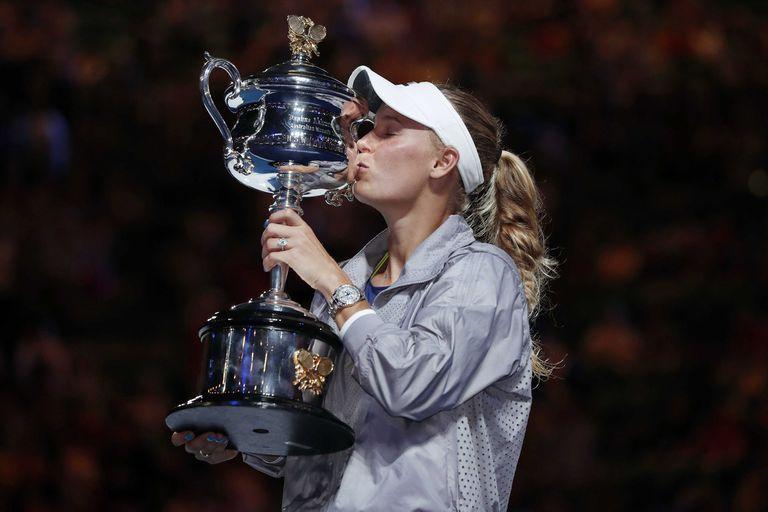 Caroline Wozniacki, la campeona de Australia que volvió al N°1 del mundo