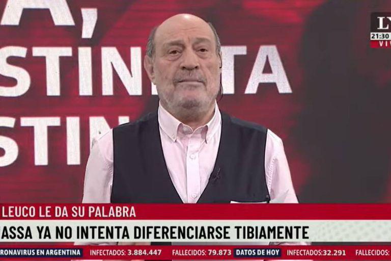 "Alfredo Leuco: ""Sergio Massa es más cristinista que Cristina"""