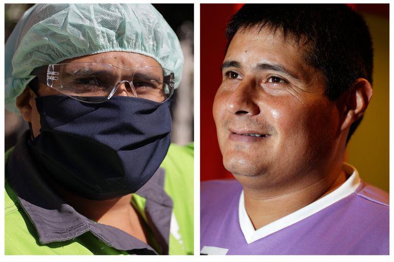 Dario Carpintero: un gladiador en la cancha y en la calle durante la pandemia