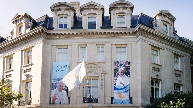 La embajada argentina en Washington