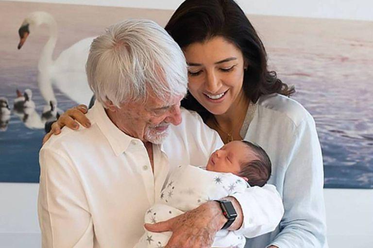 Bernie Ecclestone fue padre a los 89 años y ya piensa en tener otro hijo