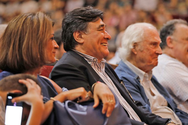 "Carlos Zannini en la presentacion del libro ""Lawfare"", de Rafael Bielsa"
