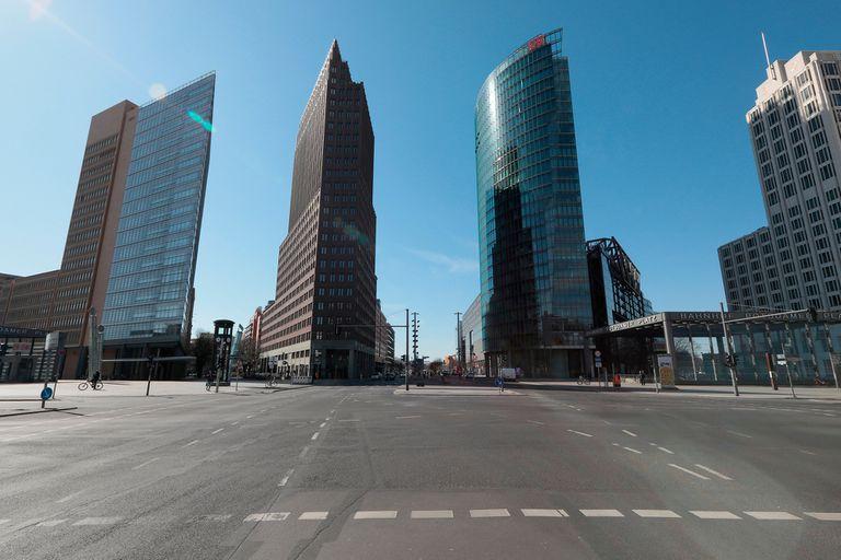 """Por el """"efecto coronavirus"""", Alemania se prepara para una caída del 5 por ciento del PBI"""