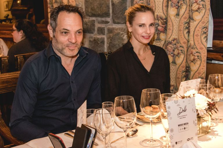 Julieta Cardinali y su novio compartieron una cena romántica en el sur