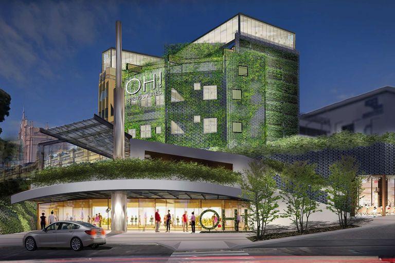 Cómo será el nuevo shopping que se hará en donde estaba el Buenos Aires Design