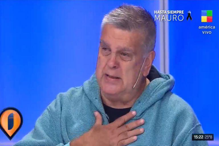 En vivo: Luis Ventura no pudo contener el llanto al recordar a Mauro Viale
