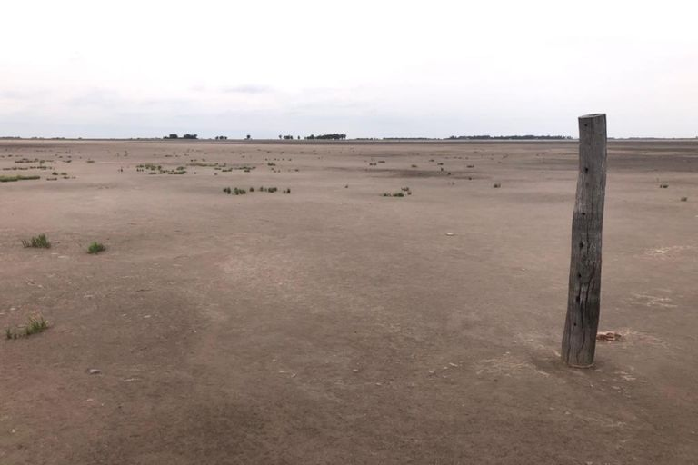 """""""Están secas"""": el lugar donde el 70% de las lagunas se quedaron sin agua"""