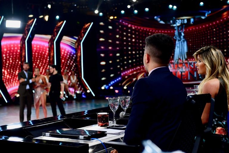 ShowMatch: Mica Viciconte monopolizó la pista y se volvió a pelear con Fernández