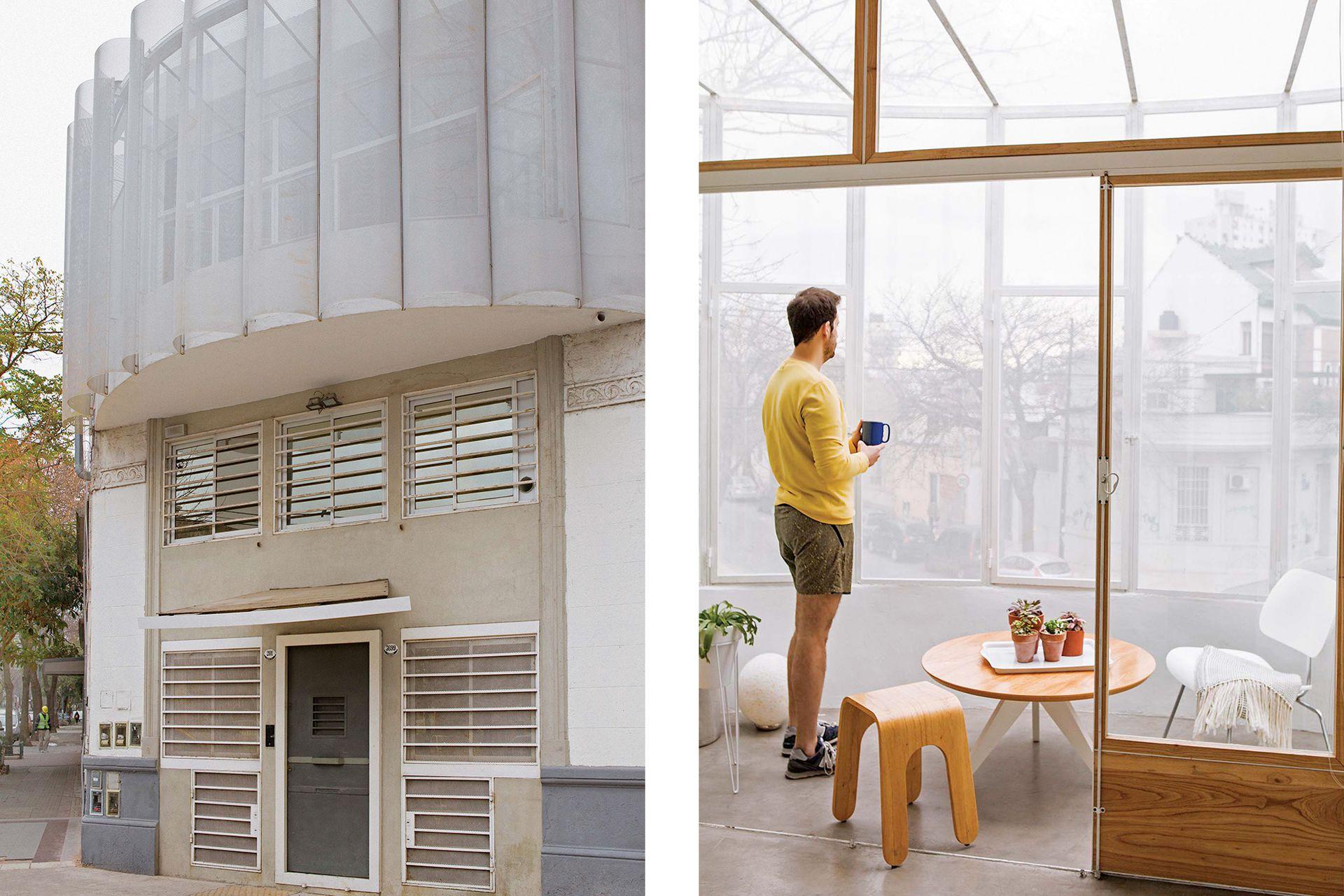 """""""Me pierdo mirando las escenas cotidianas transcurrir por la ventana. A veces veo cómo un señor mayor lava el auto en la vereda mientras escucha 'Naranjo en flor'""""."""