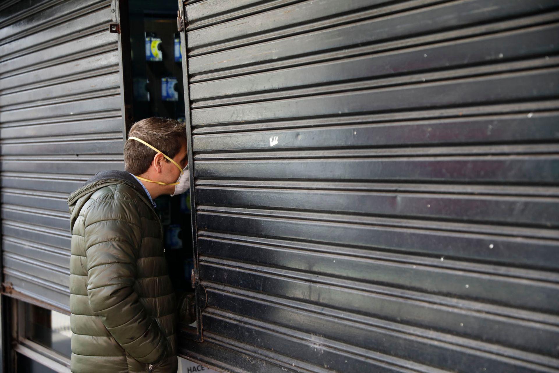 En el interior del país, donde la cuarentena por el nuevo coronavirus comenzó a flexibilizarse, a la economía le cuesta arrancar