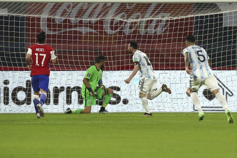 Rareza: un registro de Messi que no es positivo para la selección