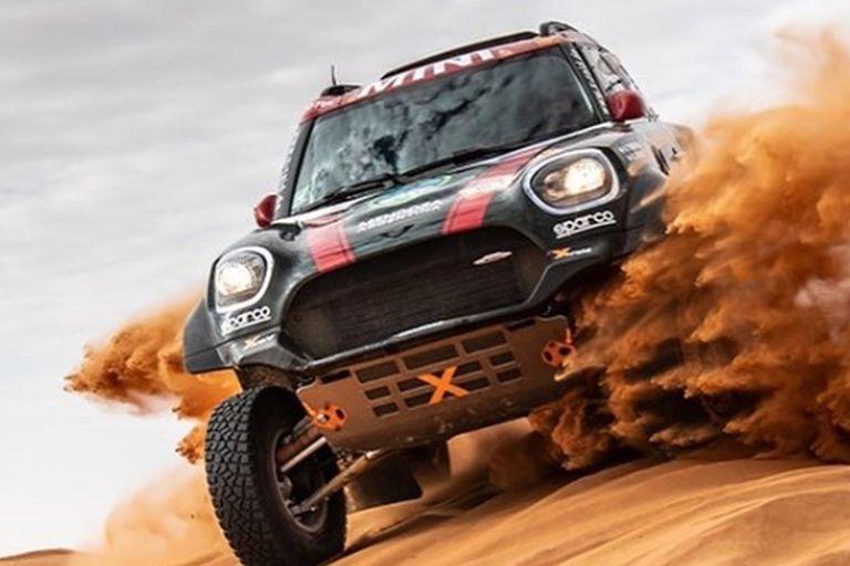 Orly Terranova terminó sexto en el Dakar