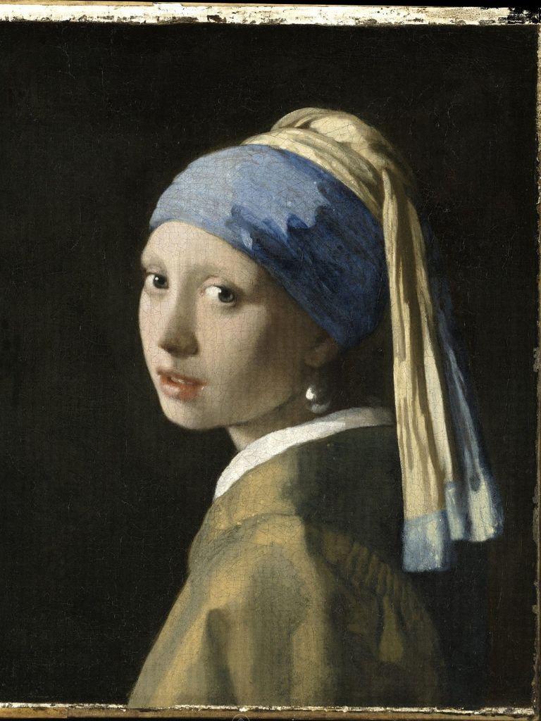 """La joven de la perla"", de Vermeer"