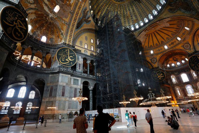 Santa Sofía es una visita obligada en Estambul