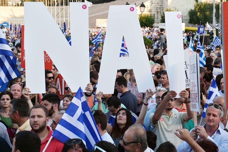 Muchos creen que el futuro del euro y la Unión Europea están en juego en el referendo de Grecia