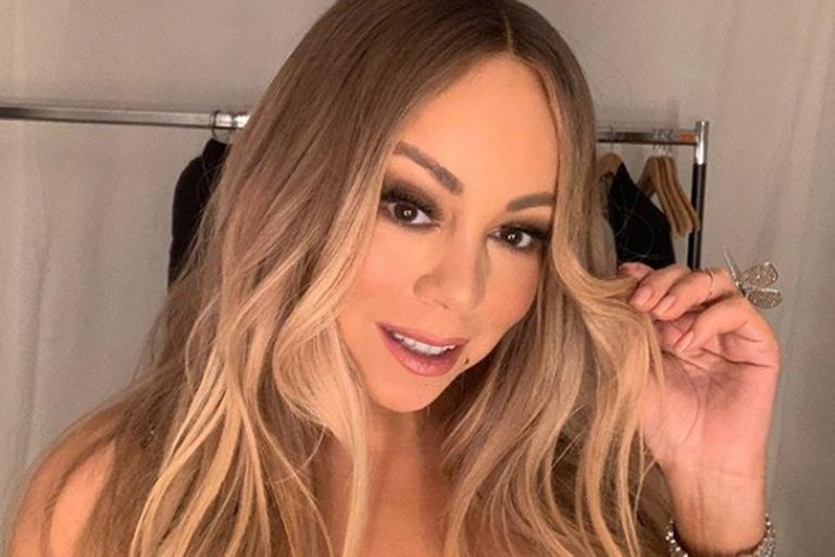 La rompió: Mariah Carey hizo el Dolly Parton Challenge y puso fotos con sus ex