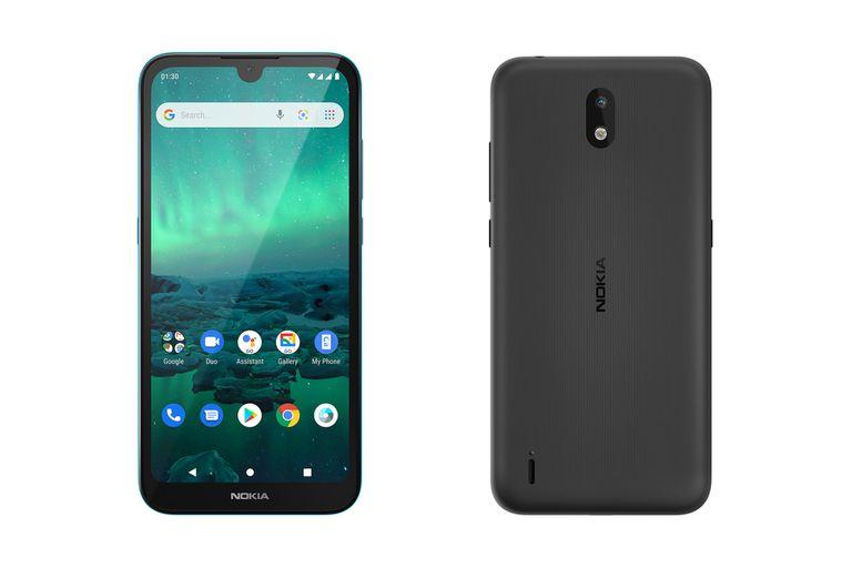 Nokia 1.3, un modelo equipado con Android 10 Go, una versión optimizada que aprovecha al máximo la configuración del teléfono