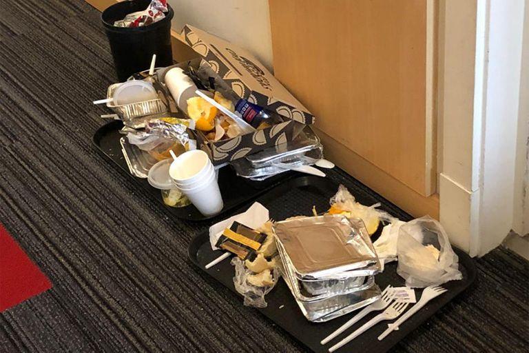 En cuarentena: los alojaron en hoteles y denuncian falta de contención e higiene