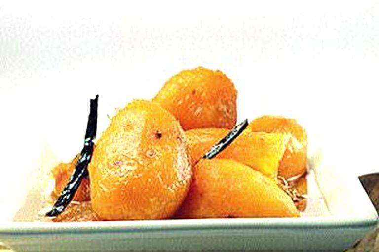Batatitas en almíbar