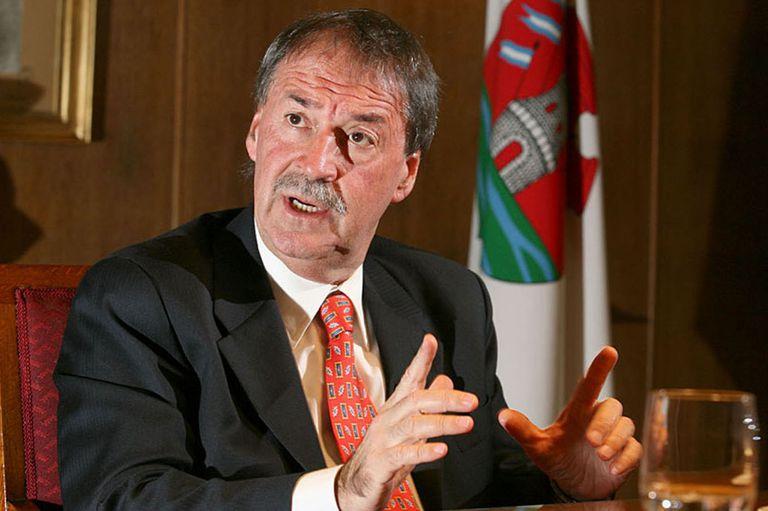 El gobernador de Córdoba ofició de vocero de sus pares