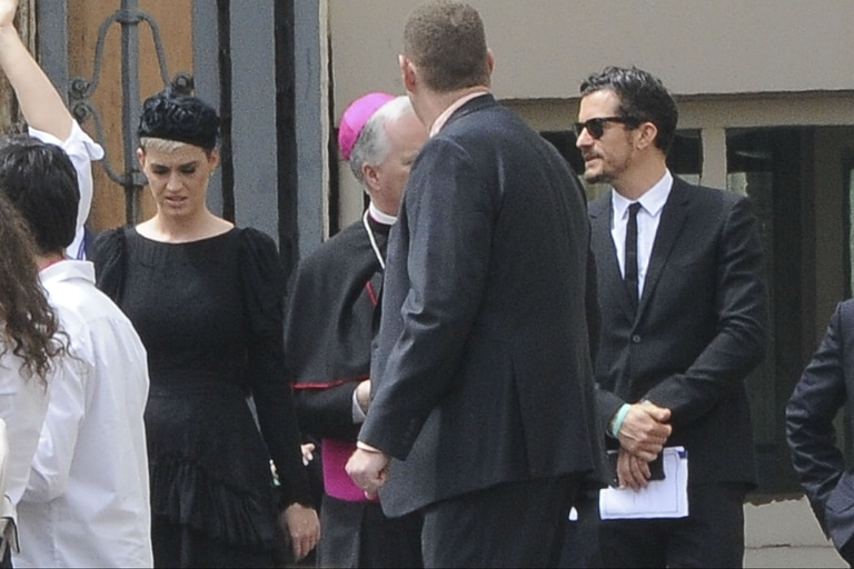 Katy Perry y Orlando Bloom, en el Vaticano