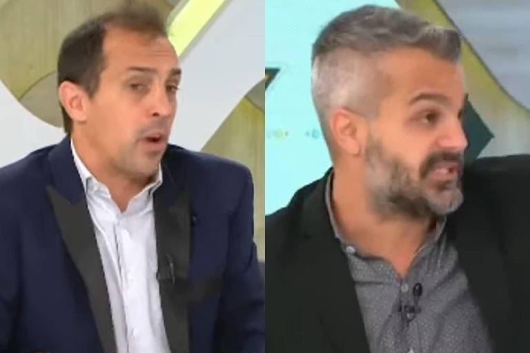 El exabrupto de José Chatruc con Agustín Fantasía por Marcos Rojo