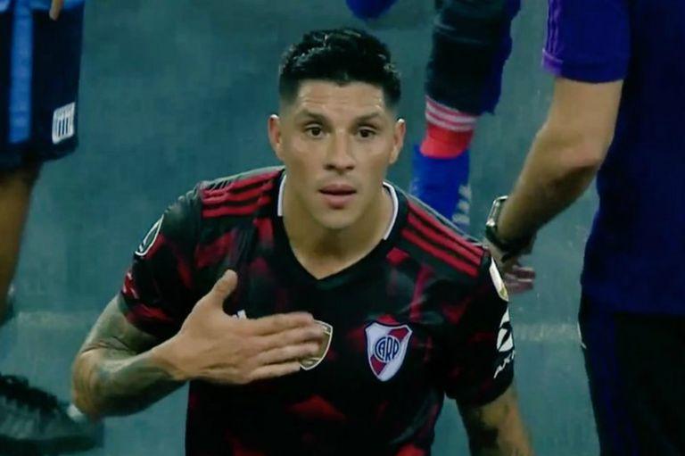 Lo que dejó el 1-1 de River: el gesto de Enzo Pérez y el handy cerca de Gallardo