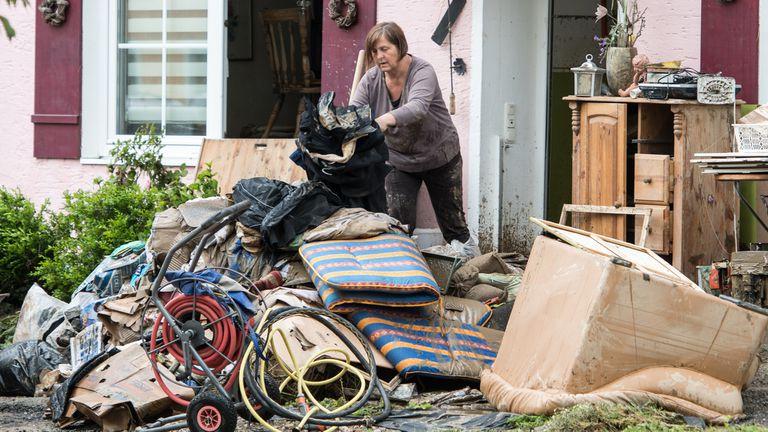 Los alemanes afectados por las inundaciones ponen en la mira el sistema de advertencias