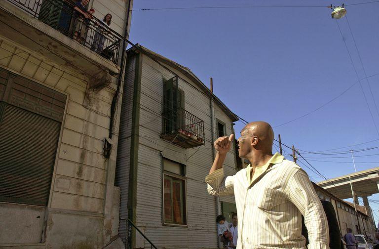 El 8 de noviembre de 2005, Mike Tyson llegó al país y revolucionó Buenos Aires. FOTO ENRIQUE GARCIA MEDINA