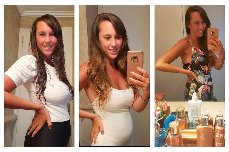 """Estefanía Pasquini bromeó con el avance de su embarazo: """"Aún me entran las calzas"""""""