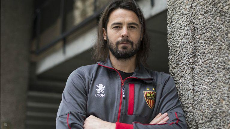 Juan Marcelo Ojeda tiene 34 años y una vuelta olímpica con River