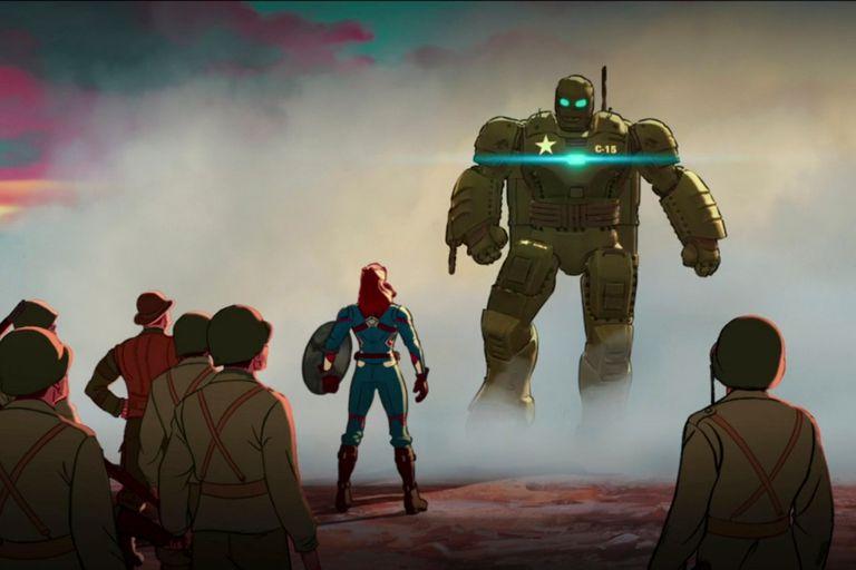 Un Steve Rogers sin superpoderes opera esta nueva versión de Iron Man