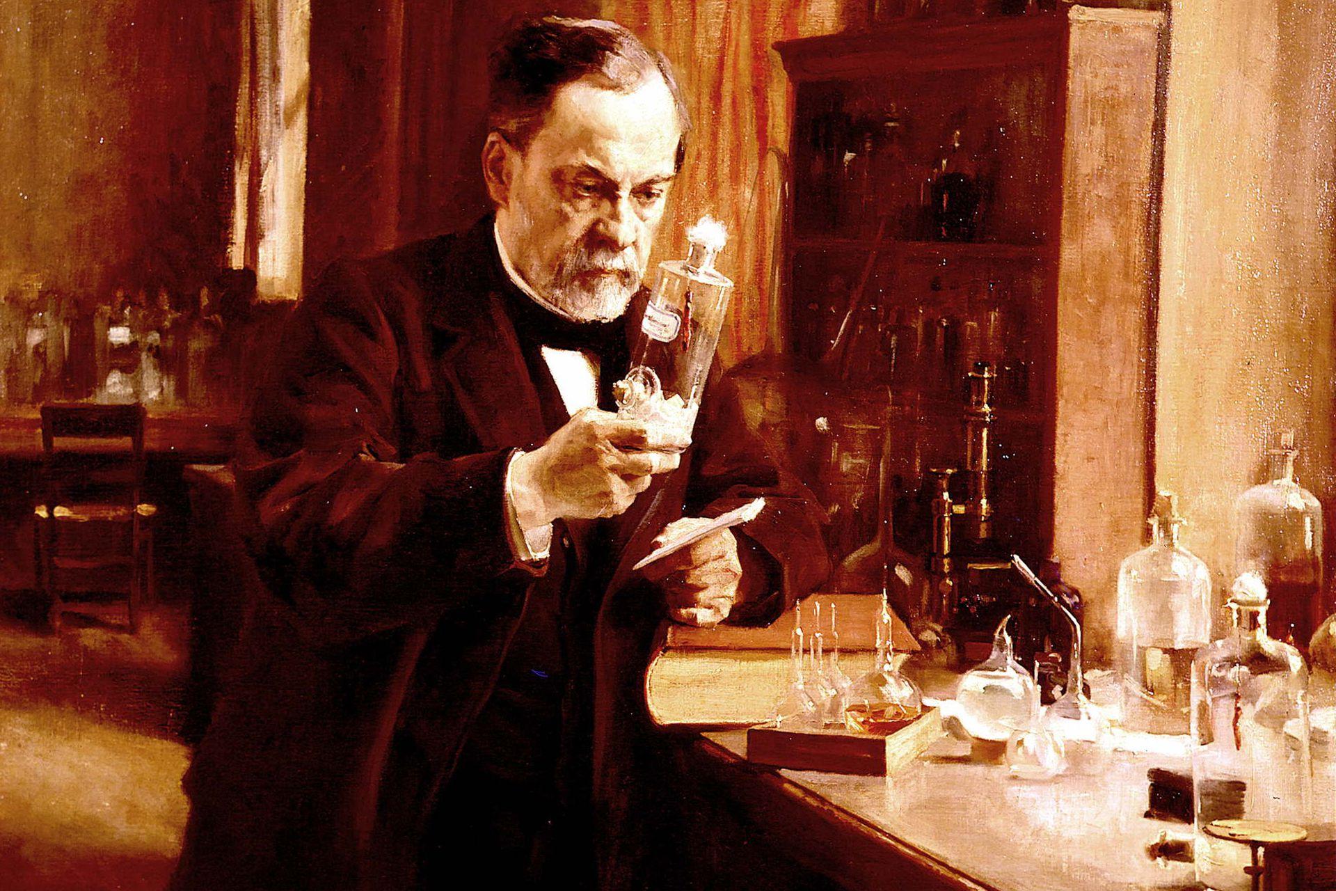 El francés Louis Pasteur desarrolló una vacuna contra el ántrax (1881) y otra contra la rabia (1885)
