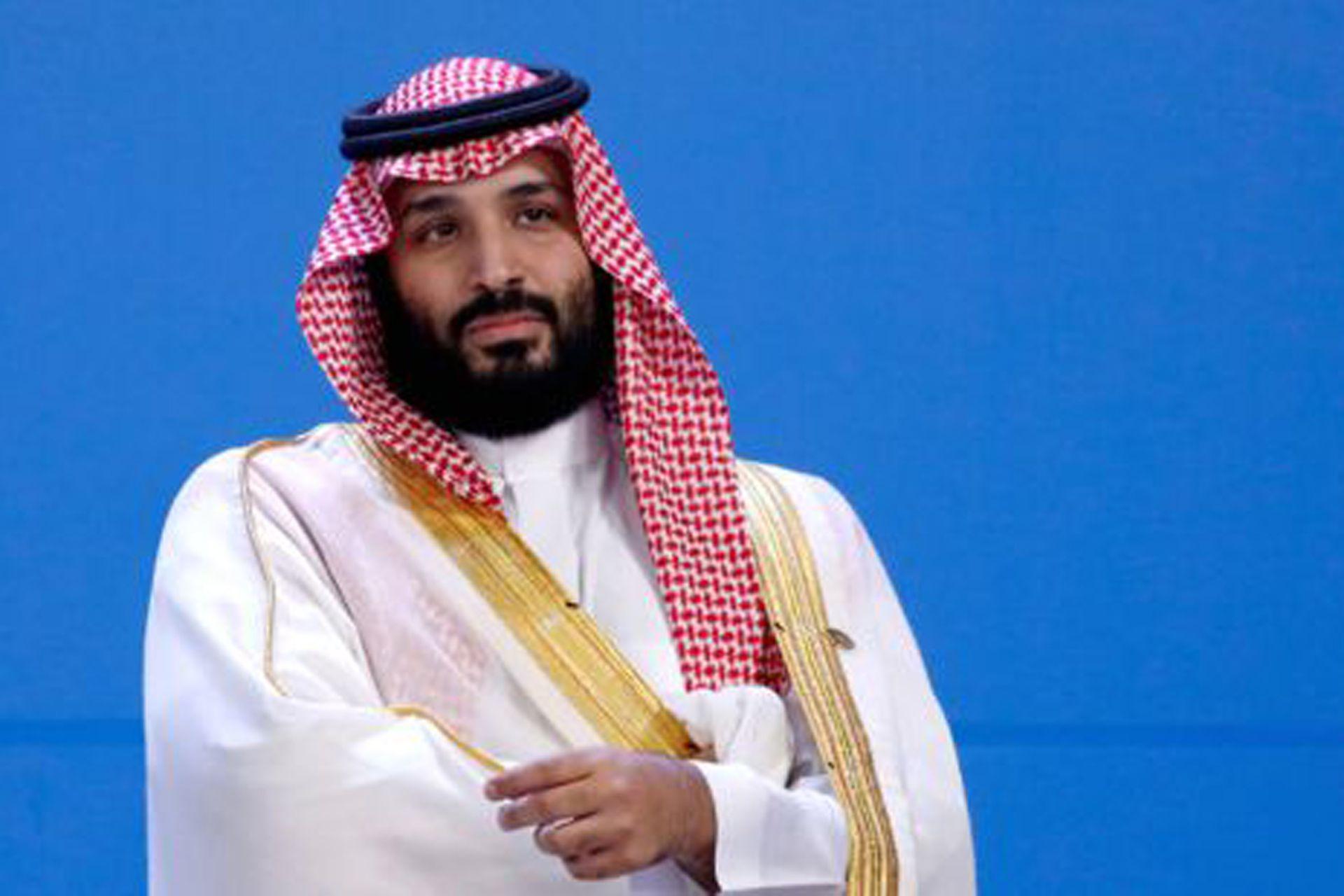 El príncipe heredero Mohammed bin Salman fue blanco de las críticas de Khashoggi