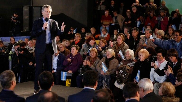 Mauricio Macri anunció el pago de juicios a los jubilados
